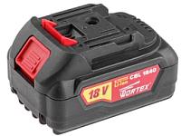 Аккумулятор для электроинструмента Wortex CBL 1840 (CBL18400029) -