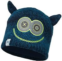 Шапка детская Buff Child Knitted&Polar Hat Monster Jolly Dark Navy (113452.790.10.00) -