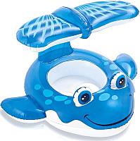Надувные ходунки Intex Голубой кит / 56591 -