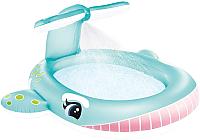 Надувной бассейн Intex Whale Spray / 57440 -
