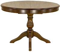 Обеденный стол Castor Баджо-ОВ (темный бук) -