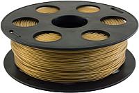 Пластик для 3D печати Bestfilament PET-G 1.75мм 1кг (золотистый металлик) -