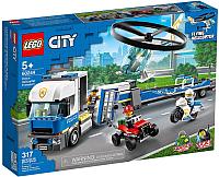 Конструктор Lego City Police Полицейский вертолетный транспорт 60244 -