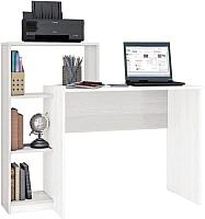 Компьютерный стол Тэкс Квартет-2 (белый) -