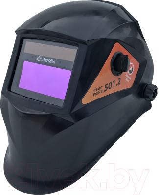 Сварочная маска Eland Helmet Force 501.2 (черный)