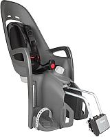 Детское велокресло Hamax Zenith Relax / HAM553051 (серый/черный) -