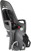 Детское велокресло Hamax Zenith Relax With Carrier Adapter / HAM553061 (серый/черный) -