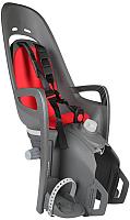 Детское велокресло Hamax Zenith Relax With Carrier Adapter / HAM553062 (серый/красный) -