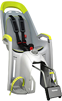 Детское велокресло Hamax Amaze With Lockable Bracket / HAM553201 (серый/лайм) -