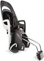 Детское велокресло Hamax Caress With Lockable Bracket / HAM553001 (серый/белый/черный) -