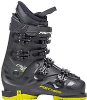 Горнолыжные ботинки Fischer Cruzar X 9.0 Thermoshape / U30019 (р.26.5, черный/желтый) -