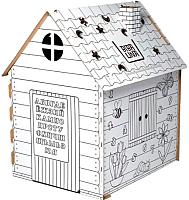 Сборная игрушка BibaLina Дом-раскраска / КДР03-002 -