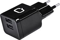 Адаптер питания сетевой Qumo Energy 23841 (черный) -