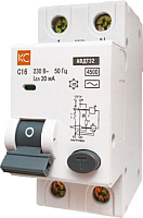 Дифференциальный автомат КС АВДТ-32 2P С 40А/30мА -