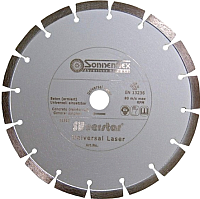 Отрезной диск алмазный Sonnenflex Universal Laser Silverstar 81002 -
