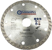 Отрезной диск алмазный Sonnenflex niversal Turbo Eco Silverstar 87631 -