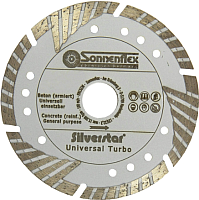 Отрезной диск алмазный Sonnenflex Universal Turbo Silverstar 87601 -