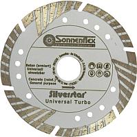 Отрезной диск алмазный Sonnenflex Universal Turbo Silverstar 87604 -