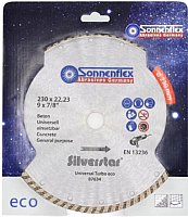 Отрезной диск алмазный Sonnenflex Universal Turbo Eco Silverstar 87634 -