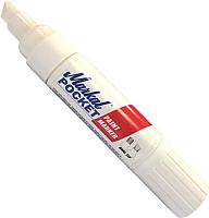 Маркер строительный Markal Pocket 97500 (белый) -