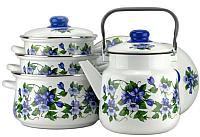 Набор кухонной посуды СтальЭмаль Забава 7-307/6М -