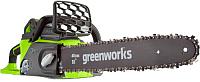 Электропила цепная Greenworks GD40CS40K4 (20077UB) -