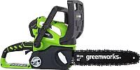 Электропила цепная Greenworks G40CS30K2 (20117UA) -