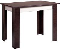 Обеденный стол Мебель-Класс Леон-1 (венге/дуб шамони) -