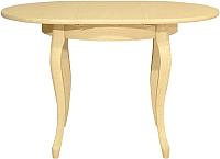 Обеденный стол Оримэкс Марсель-БК (дуб/без тонировки) -