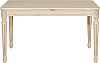 Обеденный стол Оримэкс Цезарь-ПР (молочный дуб с коричневой патиной) -
