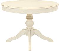 Обеденный стол Оримэкс Лотос (молочный дуб с бронзовой патиной) -