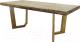 Обеденный стол Оримэкс Крафт (светлый дуб с черной патиной) -