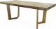 Обеденный стол Оримэкс Крафт-М (светлый дуб с черной патиной) -