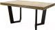 Обеденный стол Оримэкс Крафт-М (стандартный дуб/венге) -