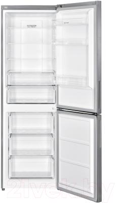 Холодильник с морозильником Sharp SJB320ESIX