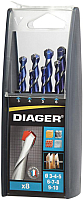 Набор сверл Diager 215C -