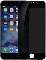 Защитное стекло для телефона Baseus Tempered Glass Screen Anti-Spy для iPhone 7 / 8 (черный) -