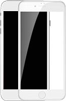 Защитное стекло для телефона Baseus Tempered Glass Crack-Resistant Edges для iPhone 7 / 8 (белый) -