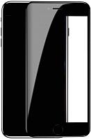 Защитное стекло для телефона Baseus Tempered Glass Crack-Resistant Edges для iPhone 7 / 8 (черный) -