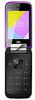 Мобильный телефон BQ Shell BQ-2816 (фиолетовый зеркальный) -
