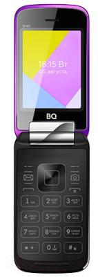 Мобильный телефон BQ Shell BQ-2816 (фиолетовый зеркальный)
