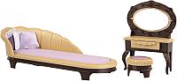Комплект аксессуаров для кукольного домика Огонек Мебель для будуара. Коллекция / С-1369 -
