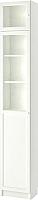 Шкаф-пенал с витриной Ikea Билли/Оксберг 092.874.32 -