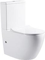 Унитаз напольный Bravat Gina CX01008UW-PA-ENG/CX01008UW-PA-ENG -