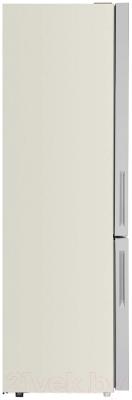 Холодильник с морозильником Maunfeld MFF 200NFBG