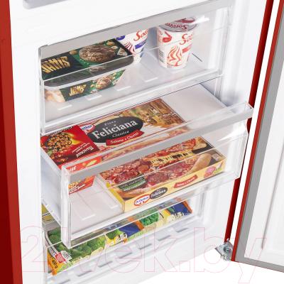 Холодильник с морозильником Maunfeld MFF 200NFR