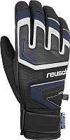 Перчатки лыжные Reusch Thunder R-Tex XT / 4801216 7787 (р-р 9, Black/Dress Blue) -