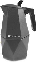 Гейзерная кофеварка Polaris Kontur-4C -