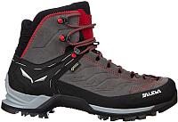 Трекинговые ботинки Salewa Mountain Trainer Mid Gore-Tex Men's / 63458-4720 (р-р 9.5, Charcoal/Papavero) -