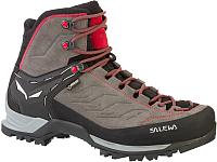 Трекинговые ботинки Salewa Mountain Trainer Mid Gore-Tex Men's / 63458-4720 (р-р 10, Charcoal/Papavero) -